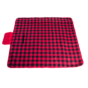 China Suppliers Waterproof Custom Printed Outdoor Folding Fleece Camping Beach Picnic Mat