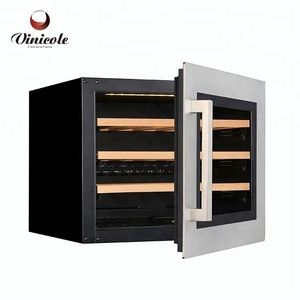 Undercounter Fridge White Wine Cabinet Wine Chiller Hotel