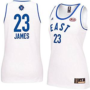 Get Quotations · LeBron James  23 Women s NBA 2016 Toronto All Star Eastern  Conference Jersey c7c924aa1