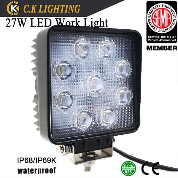 geleid vrachtwagen werk verlichting 12v led lampen auto spots te koop