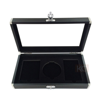 Custom Aluminum Carrying Jewelry Display BoxSmall Metal Jewelry Box