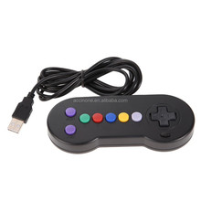 Neue Retro Wired USB Gamepad Classic Game Controller für PC Laptop <span class=keywords><strong>Computer</strong></span> für <span class=keywords><strong>Nintendo</strong></span> SNES USB Controller