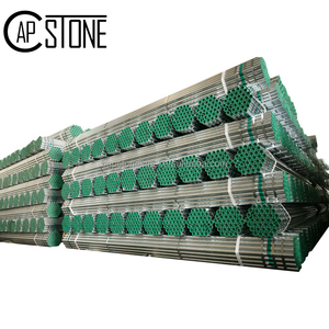 Best price construction material price list gi square tube iron galvanized steel pipe