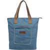 2015 Spring latest handled custom women cotton canvas tote bag