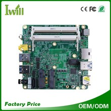 Haswell Core I3-4030U Intel NUC Mini PC Motherboard