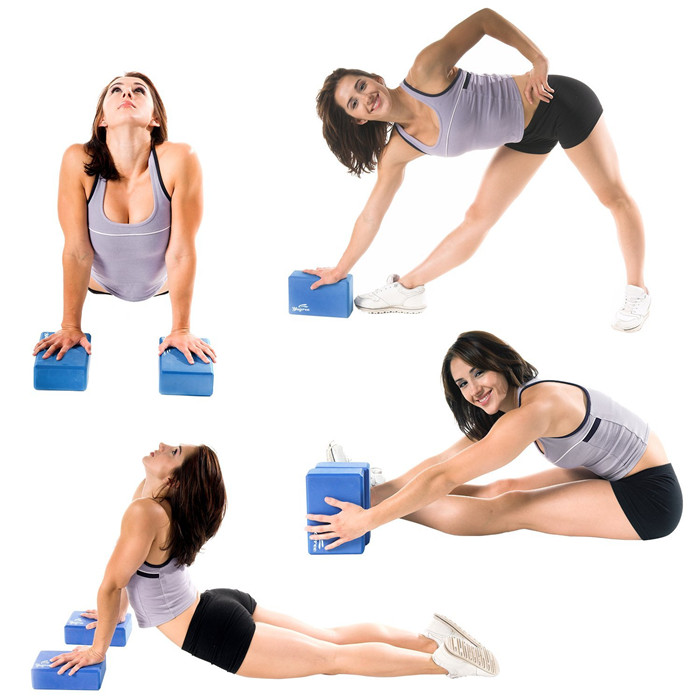 Home fitness yoga accessory yoga block exercise