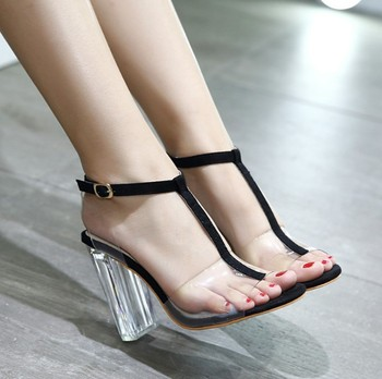 b6e93272c0f89 X89852a 2018 Elegant Women Shoes Fancy Transparent Ladies High Heel Sandals  Shoes Lady Girls Jelly Sandals - Buy Fashion Girls High Heel Sandals,Fancy  ...