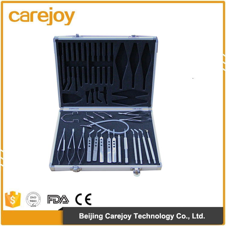 HOT SALE NEW 21pcs micro instrument set for cataract and intraocular lens implantation surgery Stainless steel CE