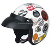Newest Models Cartoon Helmet Half Face Motorcycle Helmet