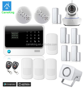 home automation alarm. best sell wireless home security gsm alarm system and wired sensorsdetectors smart automation