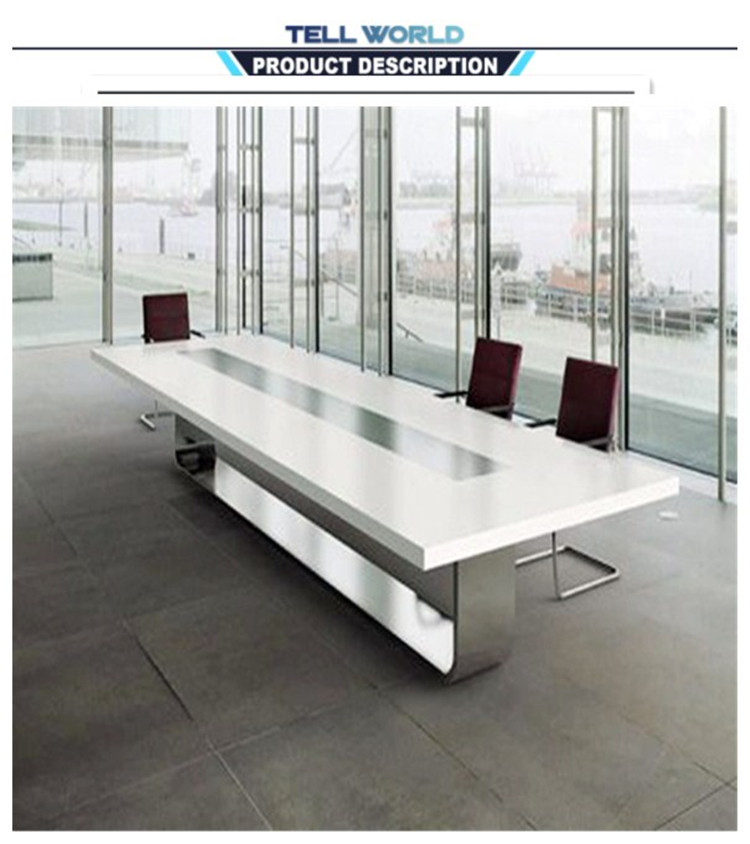 u shaped conference room table modern meeting table/conference