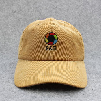 Custom Blank Wholesale Corduroy Dad Hat Baseball Caps and Hats With Black  Leather Strap Back a9420e26b94