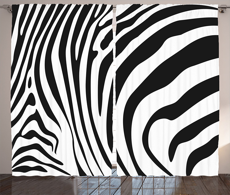 cheap zebra panels find zebra panels deals on line at alibaba Long Curtain Panels 108 get quotations ambesonne zebra print decor collection zebra animal skin pattern nature desert life theme simple stylish