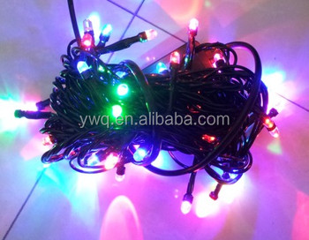 ce christmas light string black wire non led christmas lights