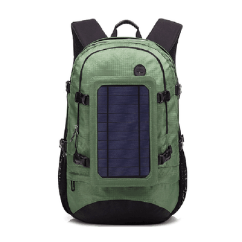 wholesale fashion Outdoor Solar Charger Backpack For Hiking and Camping solar Bicycle power bag