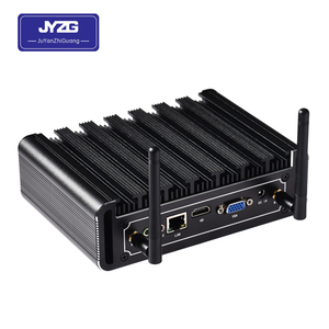 2018 cheap intel 4200u core win7 barebone system personal computer x86 mini pc 2 lan port