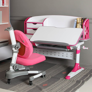 Student study desk and chair children furniture sets