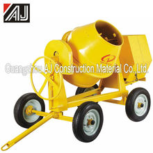 Best Selling!!!! 350L Diesel Concrete Mixer spare parts With Four Wheels