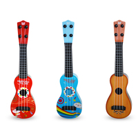 educational plastic electronics music Ukulele guitars toy for kids