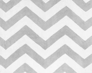 Sweet Jojo Designs Accent Floor Rug for Black and Gray Chevron Zig Zag Bedding Collection