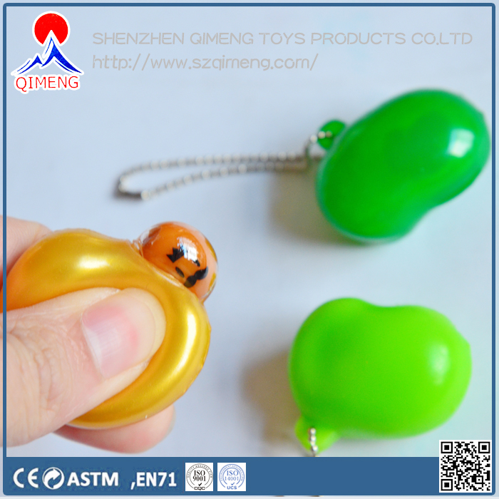 promotional gift magic 8 bean ball keychain