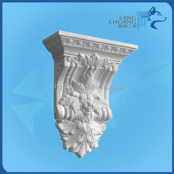 Plaster of Paris European Style Architectural Material Corbel