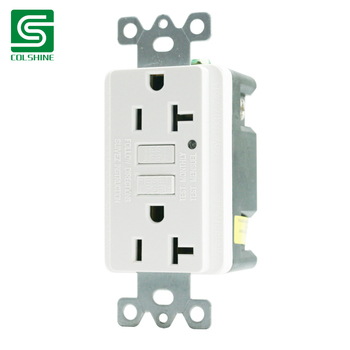 Colshine GFCI with Tamper Tesistant outlet UL approved 20A TR Receptacle