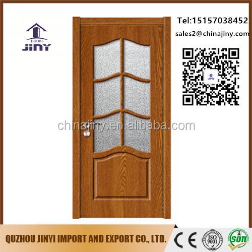 Best Price Simple Bedroom Decorative Flush Mdf Glass Door Designs Interior  Solid Wood Pvc Doors