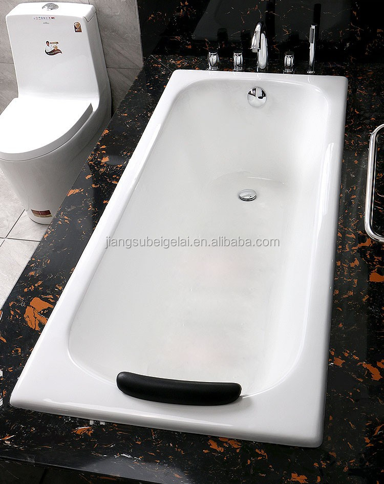 Hotel Project Cast Iron Bathtub Shower Tray 1.4m Hot Sale Small Cast ...