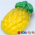 OEM customized wholesale high quality  soap with pineapple shaped beautiful handmade all kinds of fruits soap