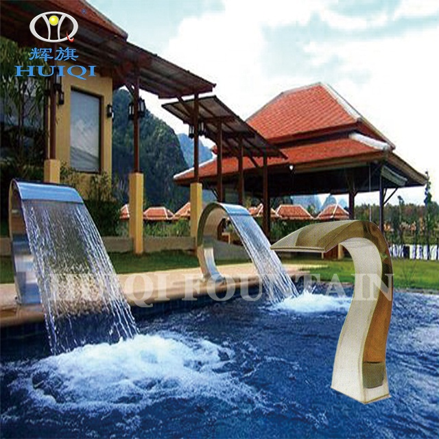 Huiqi Cascade Swimming Pool Blade Waterfall Fountain Indoor And Outdoor  Decoration - Buy Fountain Indoor And Outdoor,Swimming Pool Blade ...