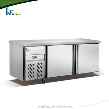 stainless steel kitchen storage cabinet /under counter fridge