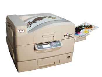 bf1a162e Oki Color Laser Printer C920wt With White Toner - Buy Portable ...
