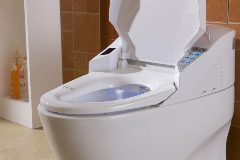 Alibaba China Color Automatic Flush Intelligent Toilet
