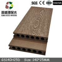 China zhejiang factory / outdoor flooring / recycled wood plastic panel