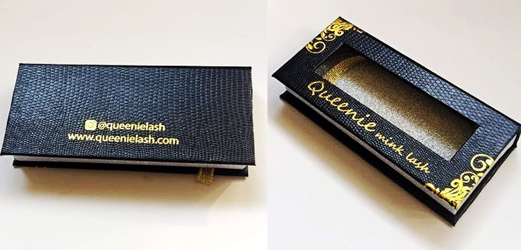 eyelash packaging box and custom eyelash packaging