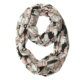 Fashionable girl spring cat digital printed printed voile infinity scarf