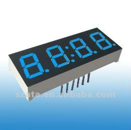 high quality 0.56 inch 4 digit blue led display number