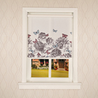 Chinese style custom made fabric manual window roller blind shades