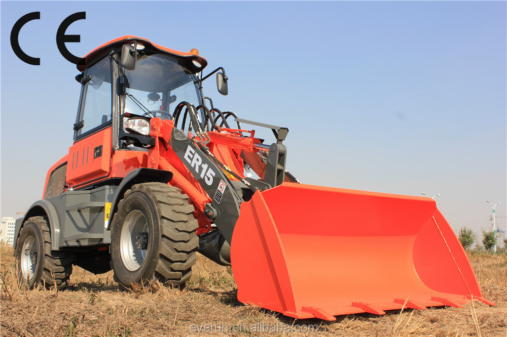 CE/EPA approved heavy equipment construction machinery with pallet fork