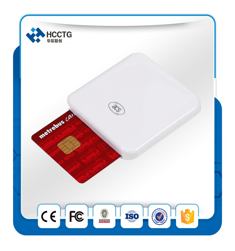 Mini USB Contact IC Chip EMV Chip Card Reader Writer ACR38U-I1