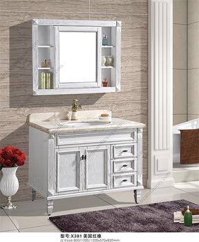 Bathroom Vanity Unit With Marble