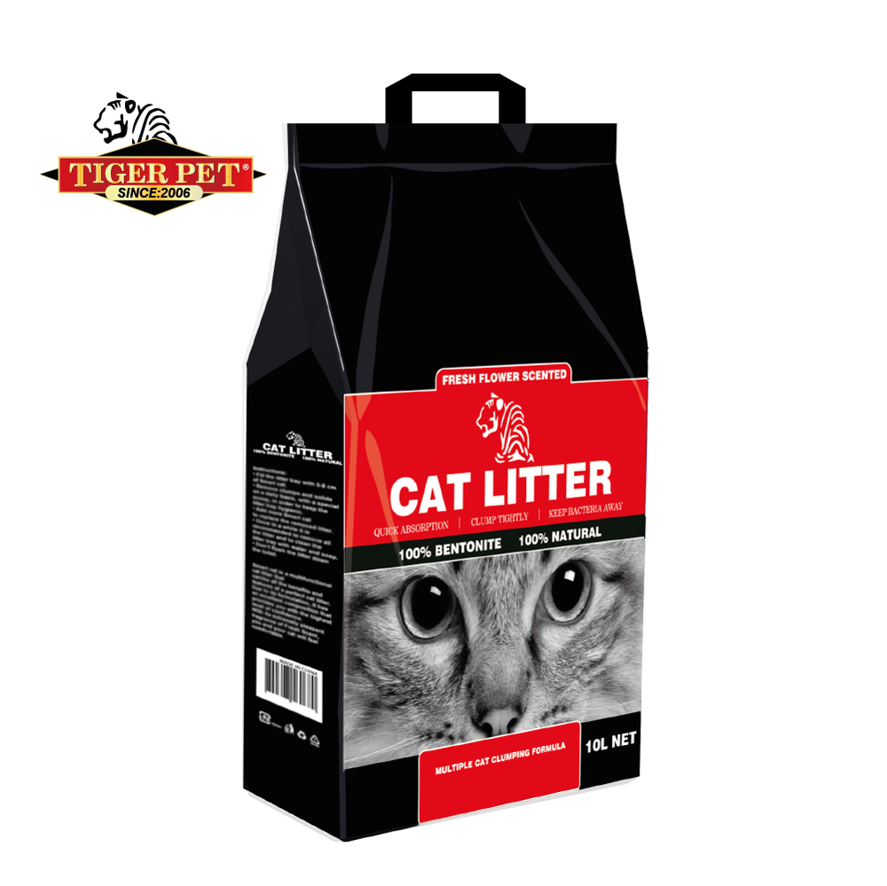 Tiger <strong>pet</strong> 100% natural high quality bentonite cat litter