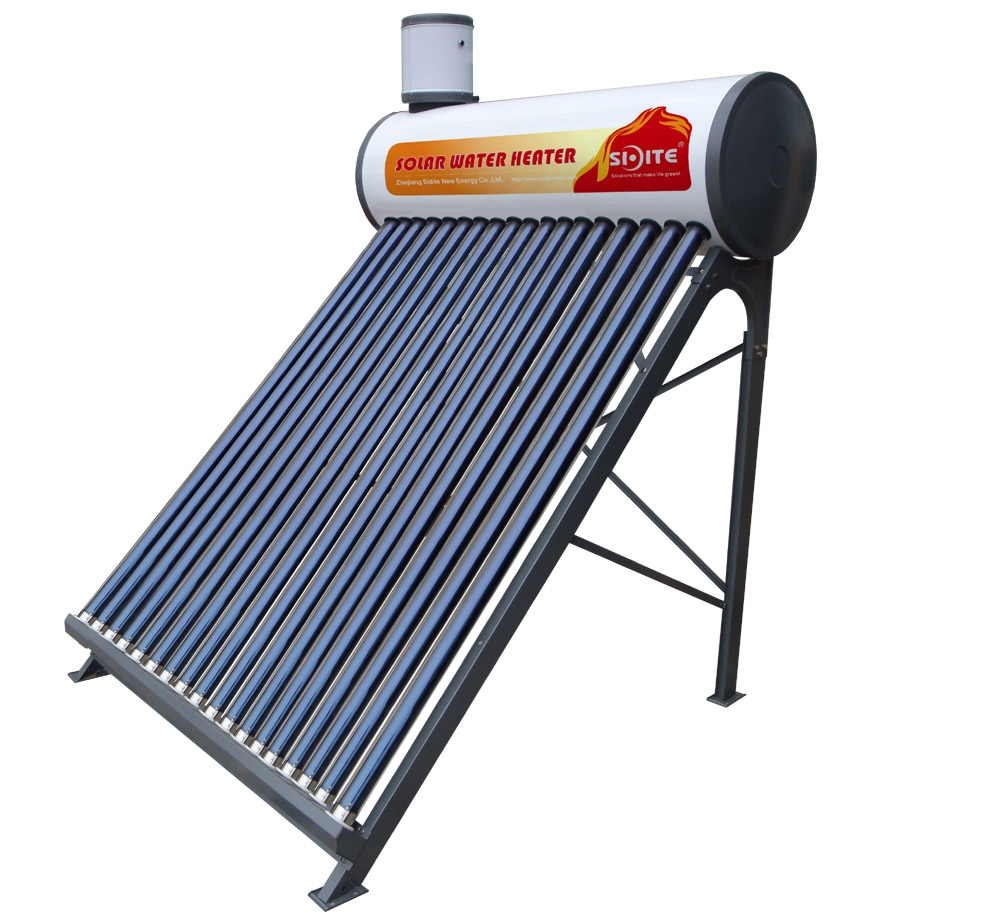 CE household Stainless Steel Compact non-pressurized Solar Water Heater(deno)