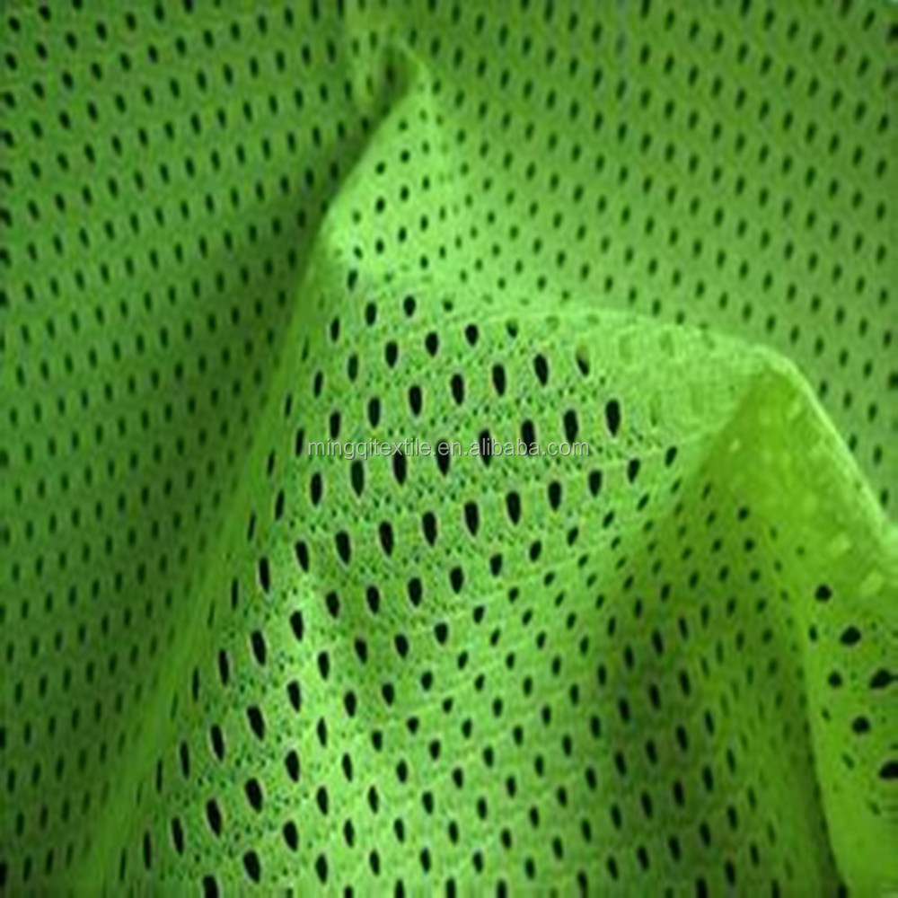 Woven Curtains Net Home Textile Mesh Eyelet Fabric