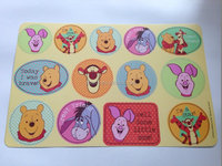 Printing promotion place mat for pet, pp plastic promotion placemat, good table mat