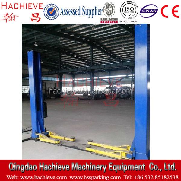 Electric Hydraulic 2 Post Car Lift Workshop Auto Body Repair Tool