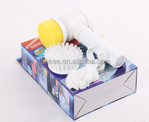 Electric Hand Toilet Scrubber Bathroom Sink Cleaner Cleaning Brush Tool