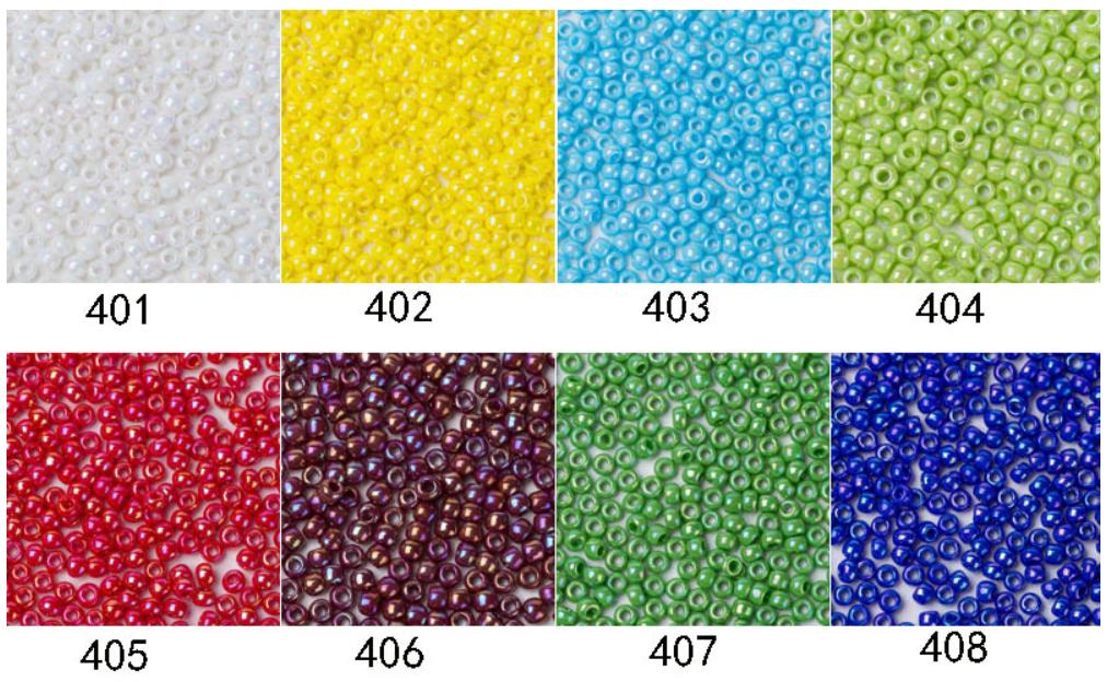 Оптовая продажа круглый пластик японский 11/0 семян бусины для изготовления ювелирных изделий DIY