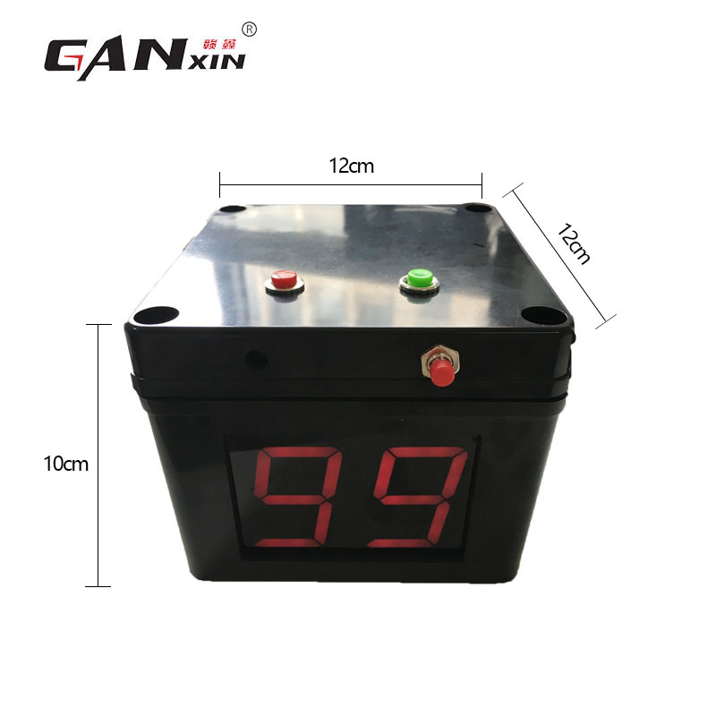 Ganxin 2019 New Updated Battery Powered World Poker Tour Timer